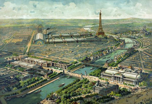 Paris à l'heure de l'Exposition universelle en 1900. (Photo : wikipédia)
